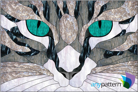 Cats Stained Glass Patterns