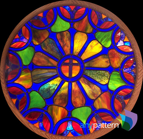 Religious Stained Glass Patterns