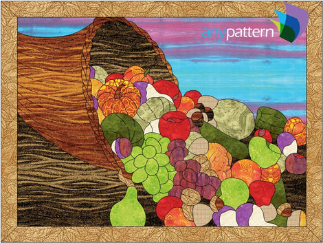 Thanksgiving Applique Quilt Patterns