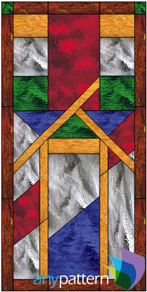 Craftsman Stained Glass Patterns