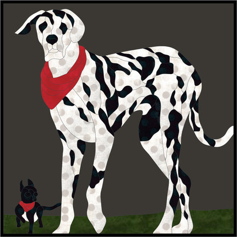 Dogs Applique Quilt Patterns