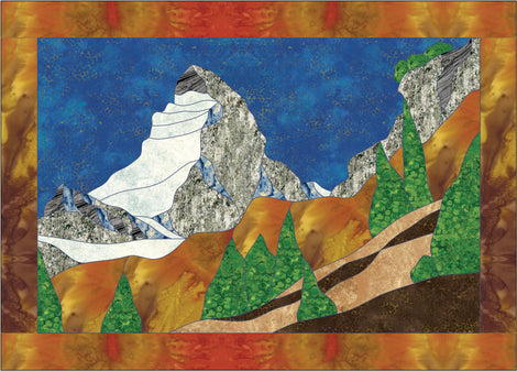 Mountain Applique Quilt Patterns