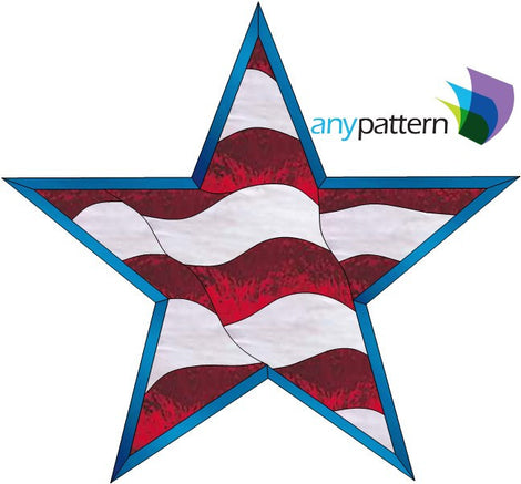 4th of July Stained Glass Patterns