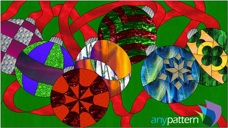 Seasonal Stained Glass Patterns