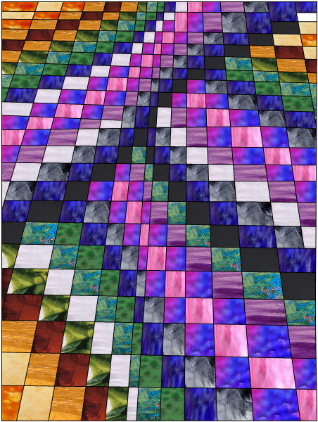 Squares Stained Glass Patterns