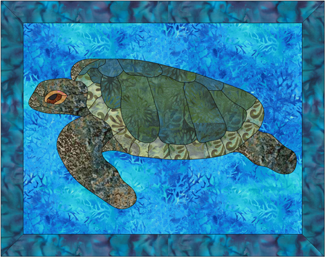 Ocean Applique Quilt Patterns