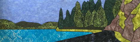 Freshwater Applique Quilt Patterns