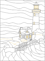 Brick Lighthouse Pattern