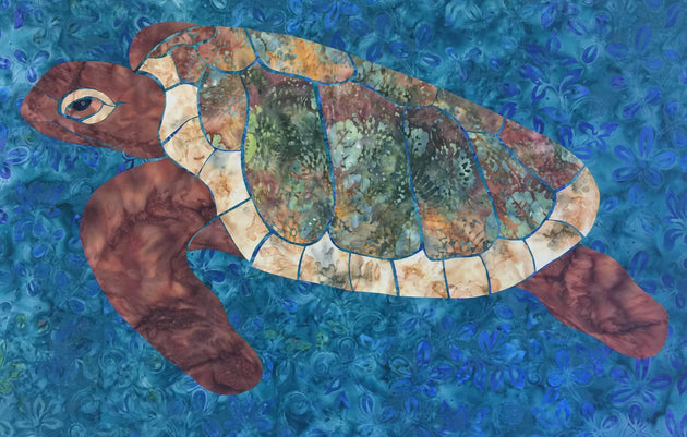 Sea Turtle Applique Final by Pete Rogers