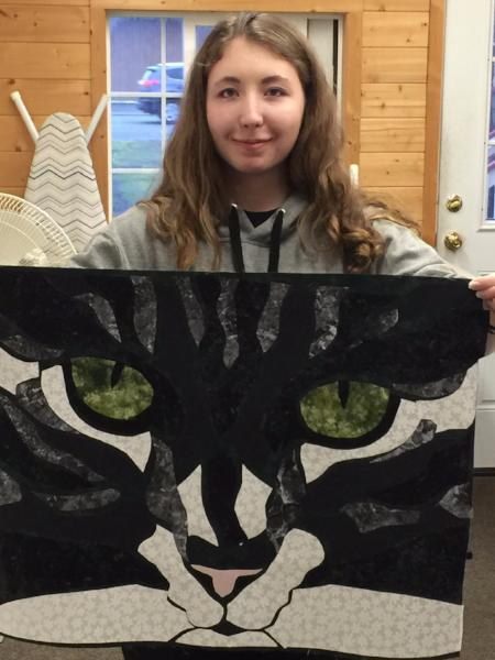 Cat Eyes Applique by Sidney