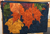Fall Maple Leaves Applique Example