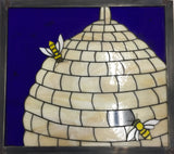 Beehive Stained Glass Example