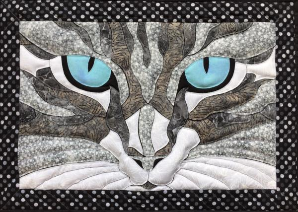 Cat Eyes Applique Example Sonya Fetch