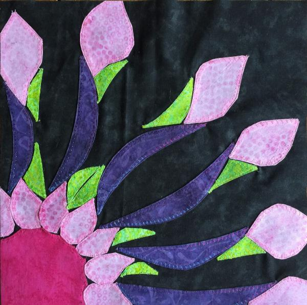 African Daisy Applique Kit Sample