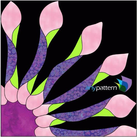 African Daisy Applique Kit Pattern