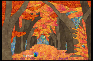 Autumn Afternoon Applique Quilt Pattern