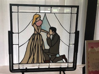 Wedding Stained Glass Pattern