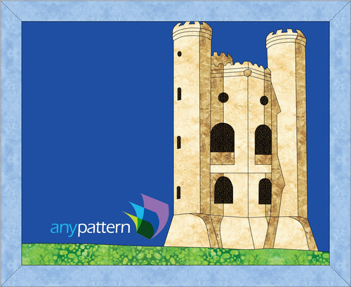 Broadway Tower Applique Quilt Pattern