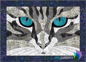Cat Eyes Applique Quilt Pattern