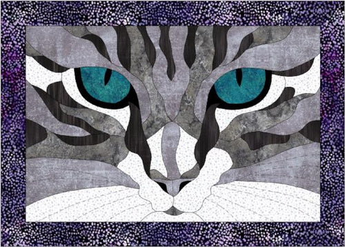 Cat Eyes Kit with pattern in Gray
