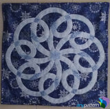 Celtic Snowflake Finished Applique by Vicki Banks