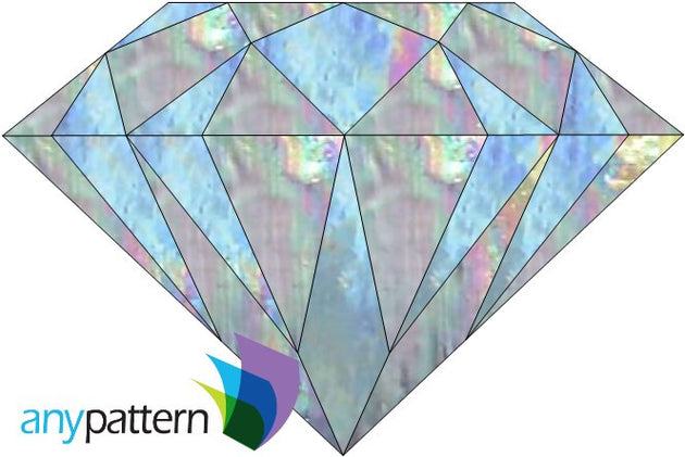Diamond Stained Glass Pattern