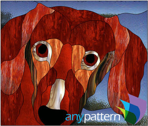 Doxie Stained Glass Pattern