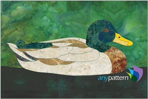 Duck Applique Quilt Pattern