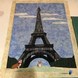 Eiffel Tower Applique Pattern