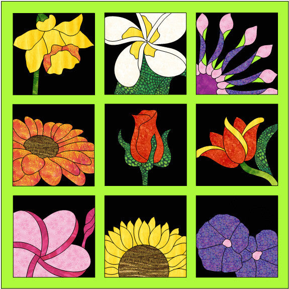 Flower Quilt Example