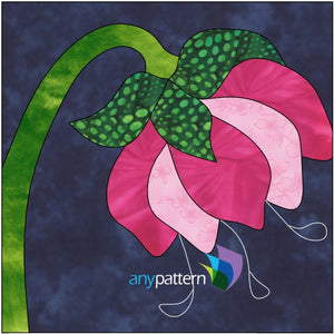 picture regarding Free Printable Flower Applique Patterns referred to as Absolutely free Applique Quilt Habits