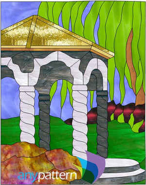 Gazebo Stained Glass Pattern