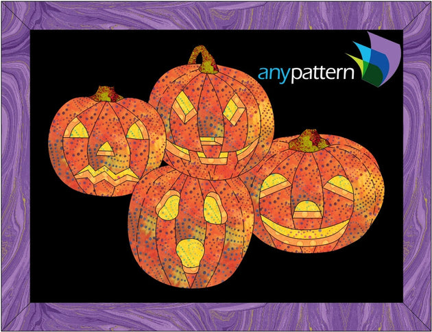 Halloween Jack Pack Applique Quilt Pattern