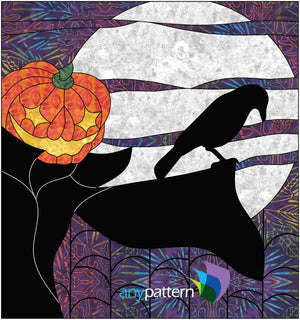 Halloween Scarecrow Applique Quilt Pattern