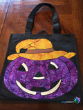 Happy Jack Trick or Treat Bag Example