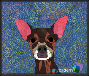 Chihuahua Applique Quilt Pattern