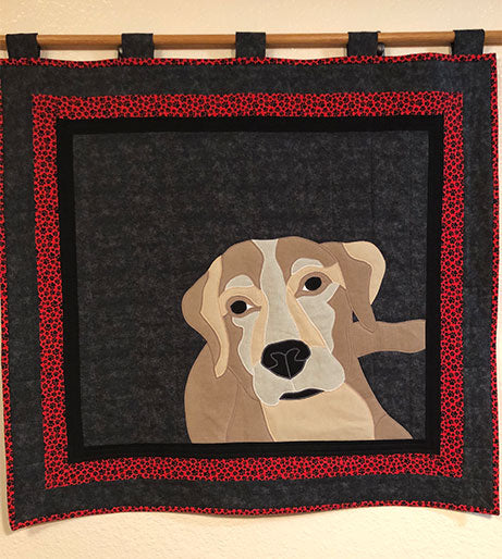 Dog Labrador Applique Pattern