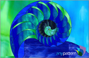 Nautilus Stained Glass Pattern