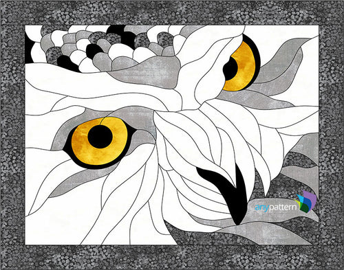 Owl Eyes Applique Pattern