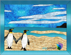 Penguin Friends Applique Quilt Patterns