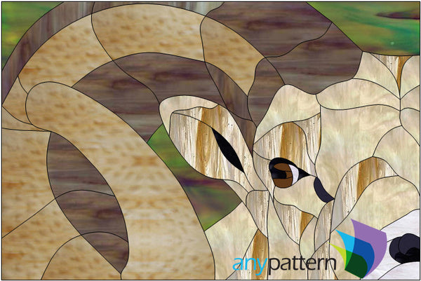 Ram Stained Glass Pattern Anypattern Com