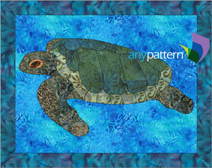 Sea Turtle Applique Quilt Pattern