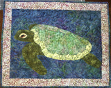 Sea Turtle Applique Example by Sonya Fetch