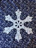 Snowflake Real Applique Pattern