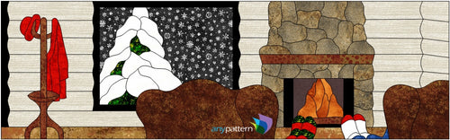 It's Cold Outside Applique Quilt Pattern