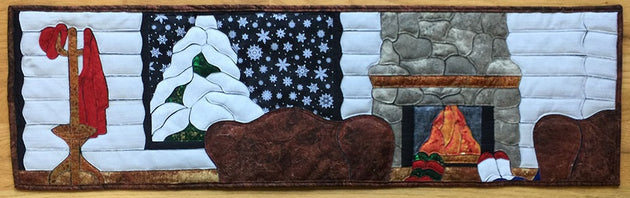 It's Cold Outside Applique Quilt Sample