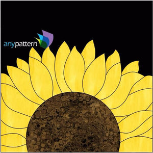 Sunflower Block Applique Kit