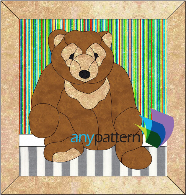 Teddy Bear Applique Quilt Pattern