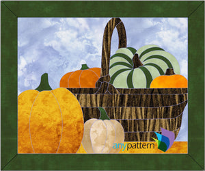 Thanksgiving Bounty Applique Pattern