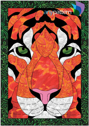 Tiger Eyes Applique Quilt Pattern